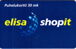 FINLAND(chip) - Elisa ShopIt, Elisa Telecard, CN : ELI 000173, Tirage 10000, 06/00, Used - Finlandia