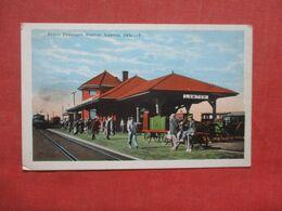 Frisco Passenger Station Lawton  Oklahoma >   Ref 4229 - - Etats-Unis