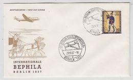 Berlin 1957 BEPHILA SST - Briefe U. Dokumente