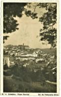 Coimbra - 1937 - Vista Parcial - Edição Tabacaria Silva N.º 4 - Coimbra