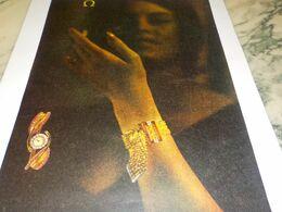 ANCIENNE PUBLICITE  MONTRE OMEGA 1958 - Bijoux & Horlogerie