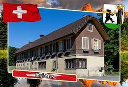 Postcard, REPRODUCTION, Municipalities Of Switzerland, Kriens 7 - Cartes Géographiques