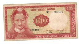 South VietNam, 100 Dong, P-19a , F/VF. - Vietnam