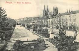 ESPANA BURGOS  PASEO DEL ESPOLON - Burgos