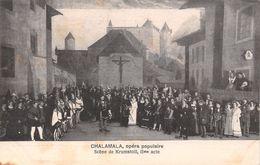 Chalamala Opéra Populaire - Scène De Krumstoll IIme Acte - Gruyère - FR Fribourg