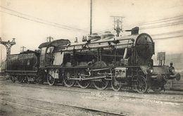 CPA Train - 587 - Locomotives Du Sud-est (Ex PLM) - Machine 6022, Devenue 6222 Puis 231C23 - Treni