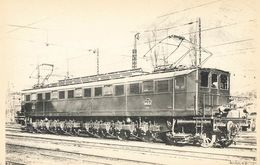 CPA Train - 582 - Locomotives Du Sud-est (Ex PLM) - Machine 262AE1 - 01 - Culoz - Altri Comuni