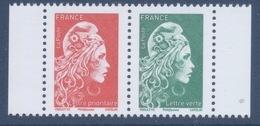 N° 5253 Et 5252 Marianne D'Yz  Issu Du Carnet C1525A Valeur Faciale LV Et LP - Unused Stamps