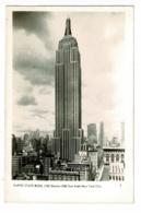 Empire State Building (102 Stories - 1250 Feet High) Nex York City - Circulé 1945, Sous Enveloppe - Empire State Building