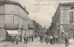 81 -carmaux - Rue De La Gare - Carmaux