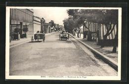 CPA Chatelaillon, Boulevard De La Plage - France