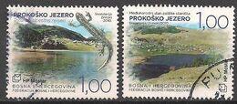 Bosnien - Herzegowina Croat. (2010)  Mi.Nr.  296 + 297  Gest. / Used  (11ga03) - Bosnie-Herzegovine