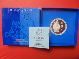 """TINTIN Et MILOU """"LE LOTUS BLEU"""" MEDAILLE ARGENT(33,62 Gr) SEULEMENT 5000 EXEMPLAIRES - Autres"""