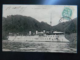 """LE  CROISEUR  """" FRIANT """" - Warships"""