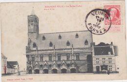 Nieuwpoort - De Hallen (Sugg Serie 9 N. 12)  (gelopen Kaart Met Zegel Aan Voorkant) - Nieuwpoort