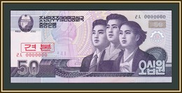 North Korea 50 Won 2008 P-60 (60s) UNC - Korea, Noord