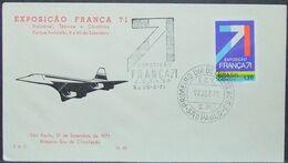 Brasil - FDC 1971 Concorde - FDC