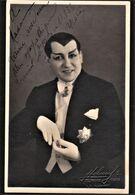 LE HAVRE - Carte Photo - Spectacle - Artiste (Voir Scan) Vampire ? - Autographe - Photographe Helmy'S. - Entertainers