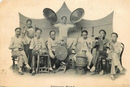 Chine - Chinese Band - Carte Coupée - Cut Card - Chine