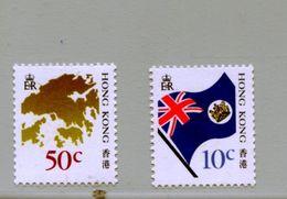 Hong Kong 1987 518-19 Serie Corrente Mnh - 1997-... Région Administrative Chinoise