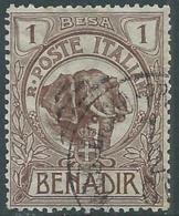 1903 SOMALIA USATO ELEFANTE 1 B - CZ18-5 - Somalia