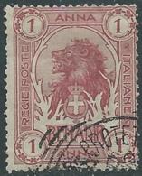 1903 SOMALIA USATO LEONE 1 A - CZ18-5 - Somalia
