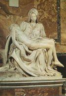 "Italia - Postcard Used Written 2000 - Roma -  St,Peter's Basilica ""The Pieta"" By Michelangelo - 2/scans - San Pietro"