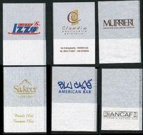 SET 6 Pezzi Serviette Papier Paper Napkin Tovagliolino Caffè Bar - Werbeservietten