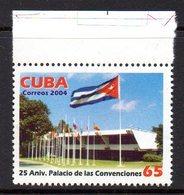 CUBA 4186 Drapeau, Palais Des Conventions - Stamps