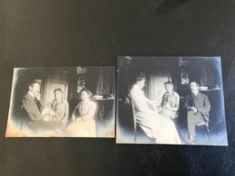 Lot De 2 PHOTOS - 1905  - Intérieur Appartement 5 Quai Des Brotteaux LYON - Places