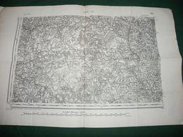 CARTE D ETAT MAJOR :  USSEL S.O. - Carte Topografiche