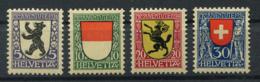 Schweiz-Switzerland-Suisse: Pro Juventute Mi 209-212 1924 ** Postfrisch / MNH / Neuf - Nuevos