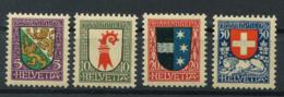 Schweiz-Switzerland-Suisse: Pro Juventute Mi 218-221 1926 ** Postfrisch / MNH / Neuf - Nuevos