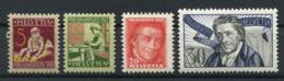 Schweiz-Switzerland-Suisse: Pro Juventute Mi 222-225 1927 ** Postfrisch / MNH / Neuf - Nuevos