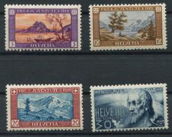 Schweiz-Switzerland-Suisse: Pro Juventute Mi 235-238 1929 ** Postfrisch / MNH / Neuf - Nuevos