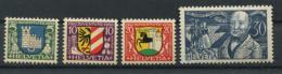 Schweiz-Switzerland-Suisse: Pro Juventute Mi 241-244 1930 ** Postfrisch / MNH / Neuf - Nuevos