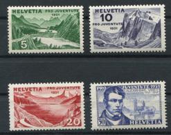Schweiz-Switzerland-Suisse: Pro Juventute Mi 246-249 1931 ** Postfrisch / MNH / Neuf - Nuevos