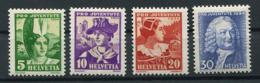 Schweiz-Switzerland-Suisse: Pro Juventute Mi 281-284 1934 ** Postfrisch / MNH / Neuf - Nuevos