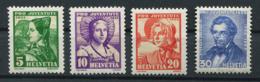 Schweiz-Switzerland-Suisse: Pro Juventute Mi 287-290 1935 ** Postfrisch / MNH / Neuf - Nuevos