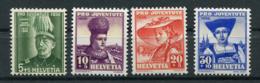 Schweiz-Switzerland-Suisse: Pro Juventute Mi 359-362 1939 ** Postfrisch / MNH / Neuf - Nuevos