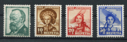 Schweiz-Switzerland-Suisse: Pro Juventute Mi 373-376 1940 ** Postfrisch / MNH / Neuf - Nuevos