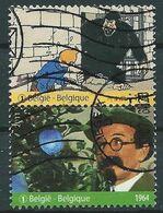 België OBP Nr: 4168 + 4170 Gestempeld / Oblitérés - Kuifje - Samenhangend - Belgique