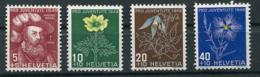 Schweiz-Switzerland-Suisse: Pro Juventute Mi 541-544 1949 ** Postfrisch / MNH / Neuf - Nuevos