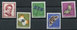 Schweiz-Switzerland-Suisse: Pro Juventute Mi 561-565 1951 ** Postfrisch / MNH / Neuf - Nuevos