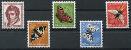 Schweiz-Switzerland-Suisse: Pro Juventute Mi 618-622 1955 ** Postfrisch / MNH / Neuf - Nuevos