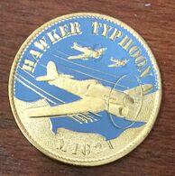 14 AVION HAWKER TYPHOON MIG21 MÉDAILLE TOURISTIQUE ARTHUS-BERTRAND 2020 JETON MEDALS COINS TOKENS - Arthus Bertrand