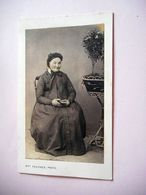 PHOTO CDV 19 EME GRAND MEME CHIC    MODE   Cabinet FAUCHER A LIMOGES - Ancianas (antes De 1900)