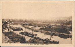 (Thème Canal, Péniche) - PORT DE MALSTATT (SARRE) - Saarbruecken