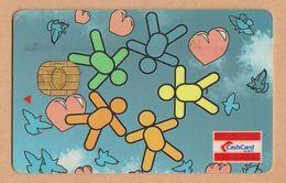 Singapore Old Cash Card Gemplus Chip Cashcard Used - Andere Sammlungen