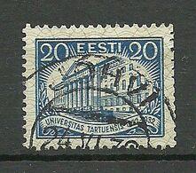 ESTLAND Estonia 1932 O JÕHVI Auf Michel 97 - Estland